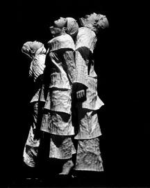Noguchi Triptych by Marion Gray